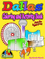 Dallas Coloring & Activity Book