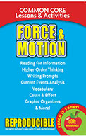 Force & Motion - Common Core Lessons & Activities