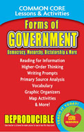 Forms of Government: Democracy, Monarchy, Oligarchy & More – Common Core Lessons & Activities