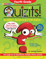 Fourth Grade Quizits!: Quirky Quizzes For Kids!