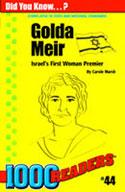 Golda Meir: Israel's First Woman Premier