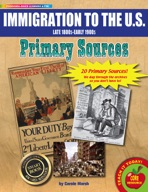 Immigration Primary Sources Pack