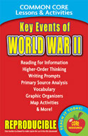 Key Events of World War II  Common Core Lessons and Activities
