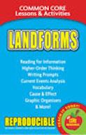 Landforms - Common Core Lessons & Activities