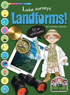 Luke Surveys Landforms