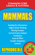 Mammals - Common Core Lessons & Activities