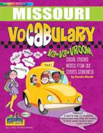 Missouri Vocabulary: Va-Va-Vroom! Social Studies Words Fro