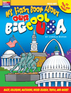 My First Book About Our Big Cool USA