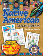 Native American Coloring Book