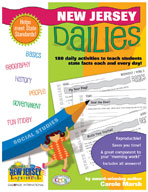 New Jersey Dailies: 180 Daily Activities for Kids