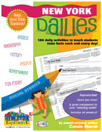New York Dailies: 180 Daily Activities for Kids