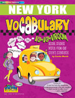 New York Vocabulary: Va-Va-Vroom! Social Studies Words From Our State's Standards