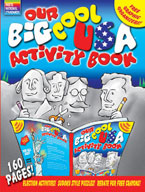 Our Big Cool USA Activity Book