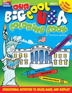 Our Big Cool USA Coloring Book