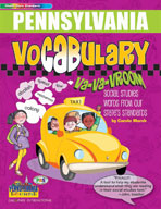 Pennsylvania Vocabulary: Va-Va-Vroom! Social Studies Words From Our State's Standards