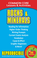 Rocks and Minerals  Common Core Lessons and Activities