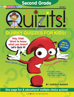 Second Grade Quizits!: Quirky Quizzes For Kids!