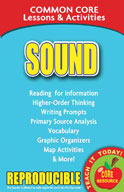 Sound - Common Core Lessons and Activities