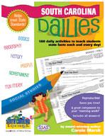 South Carolina Dailies: 180 Daily Activities for Kids