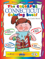 The Colorful Connecticut Coloring Book!