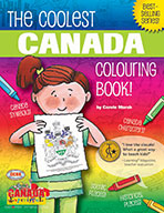 The Coolest Canada Colouring Book (eBook)
