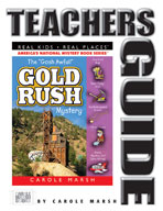 """The """"Gosh Awful"""" Gold Rush Mystery Teacher's Guide"""