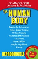 The Human Body - Common Core Lessons & Activities
