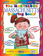 The Marvelous Massachusetts Coloring Book!