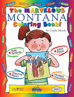 The Marvelous Montana Coloring Book!