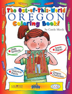 The Out-Of-This-World Oregon Coloring Book!