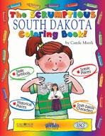 The Sensational South Dakota Coloring Book!