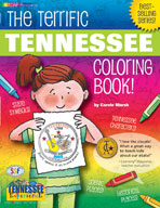 The Terrific Tennessee Coloring Book