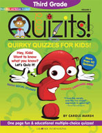 Third Grade Quizits!: Quirky Quizzes For Kids!