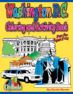 Washington D.C. Coloring & Activity Book