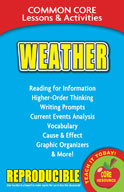 Weather  Common Core Lessons and Activities