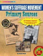Women's Suffrage Movement Primary Sources Pack