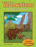 Yellowstone National Park Coloring and Activity Book