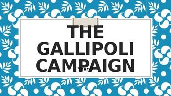 GALLIPOLI CAMPAIGN SUMMARY