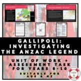 GALLIPOLI: INVESTIGATING THE ANZAC LEGEND