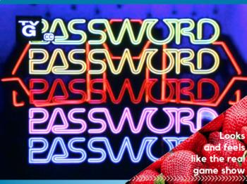 GAME - Alternative Energy Password (Science)
