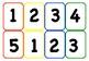 GAME BOARD - BONUS game for pre-K, K maths