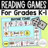 Reading Games for 1st and 2nd Grade Literacy Centers