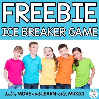 Free Back to School Game: Ice Breaker Game for Classroom Community and Team Building