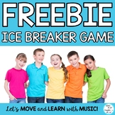 Back to School Game: Ice Breaker Game for Classroom Community and Team Building