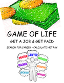 GAME OF LIFE - GET JOB, W-4, AND FIND YOUR NET PAY