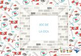 GAME OF THE GOOSE (board game board) KNIGHTS * JOC DE LA OCA - CAVALLERS