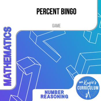 GAME - Percent Bingo (Math)