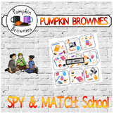 "GAME - Spy & Match ""English in the classroom"""