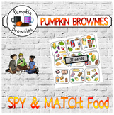 "GAME - Spy & Match ""Food"""