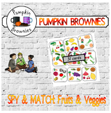 "GAME - Spy & Match ""Fruits & Veggies"""